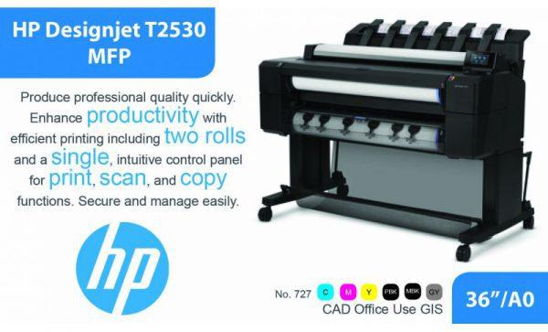 MÁY IN KHỔ LỚN HP T2530